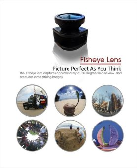 3 in One iPhone Camera Lens For iPhone 4/4S - 4