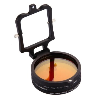 58mm Yellow + Red + Purple Diving Lens Filter For GoPro HERO5 -intl - 3