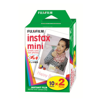 80 Sheets Fujifilm Instax Mini Twin Film (4 Twin Pack)
