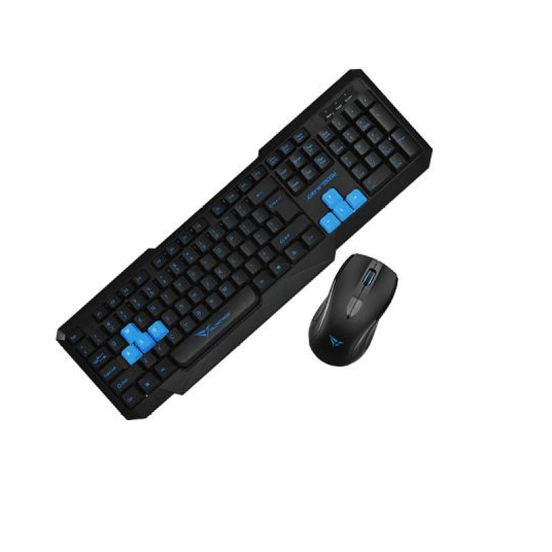 Alcatroz Xplorer 5500M Keyboard Combo (Black/Blue) Singapore
