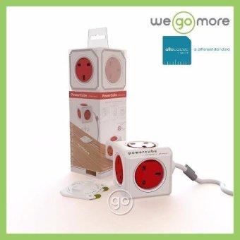 Allocacoc Powercube (Red) - 2