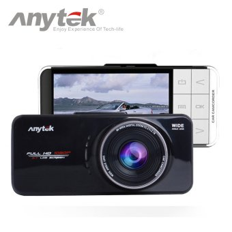 Anytek Official AT66A Car Camera Novatek 96650 Car DVR(Black)