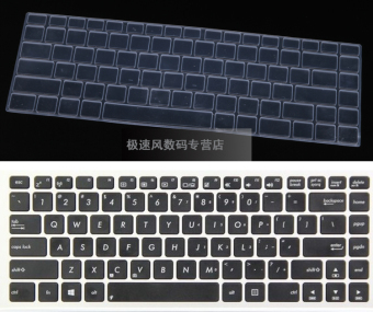 Asus e402ma2940/k401ub6200/a401uq7200 transparent protective pad sets stickers keyboard Film