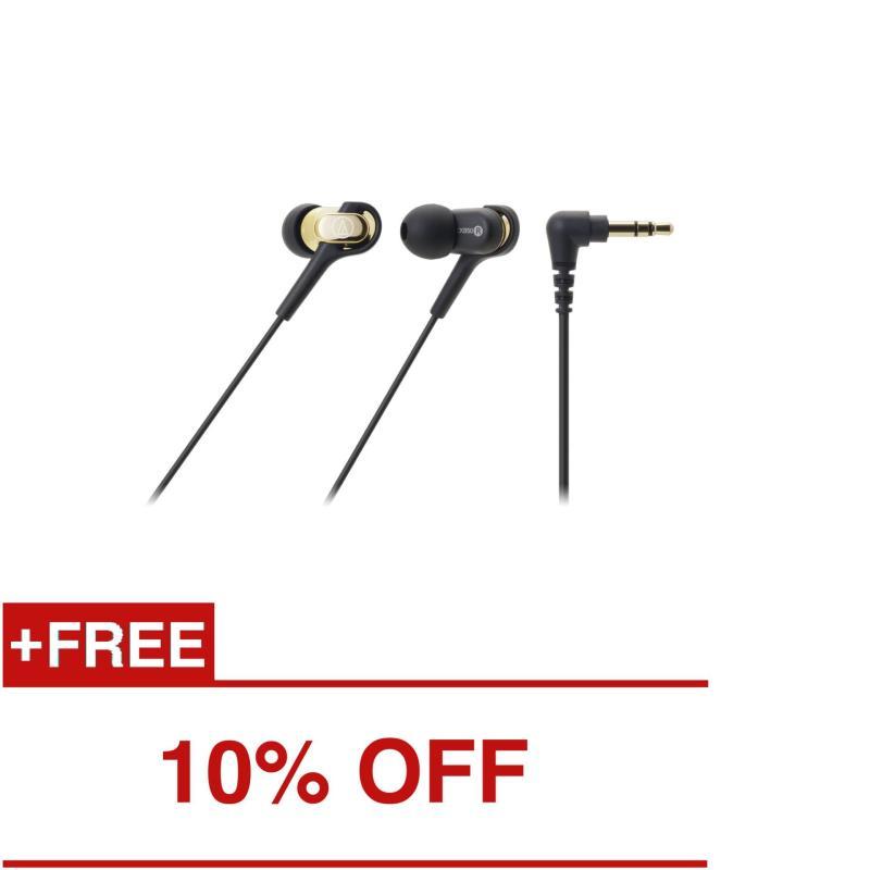 Audio-Technica ATH-CKB50 In-Ear Headphones Gold Singapore