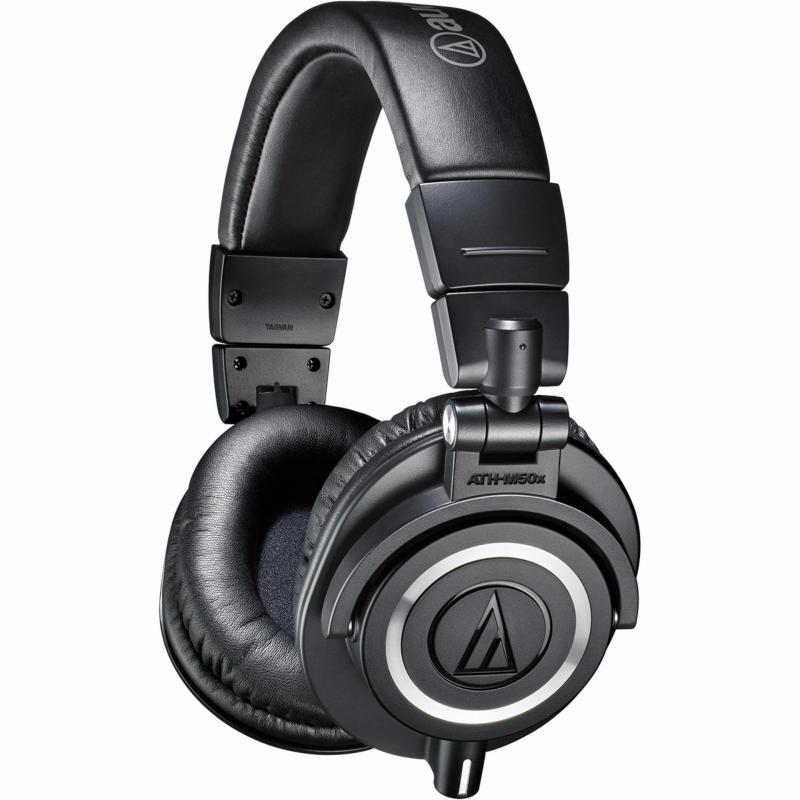 Audio-Technica ATH-M50X Professional Studio Monitor Headphones (Black) Singapore