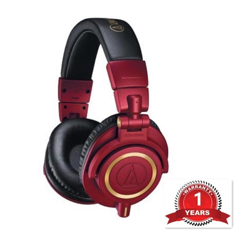 Audio-Technica ATH-M50x RD Limited Edition Professional Studio Monitor Headphones Singapore