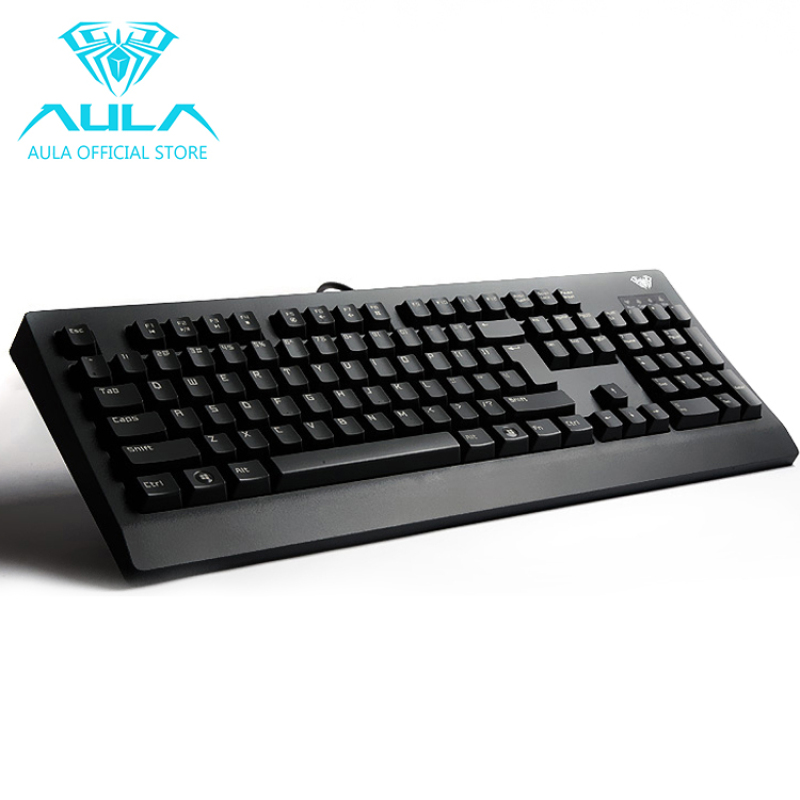 AULA OFFICIAL Demon King USB Wired Mechanical Gaming Keyboard (Black) Singapore