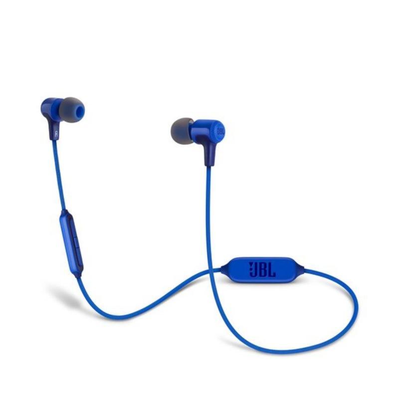 Authentic JBL E25BT Bluetooth In-Ear Headphones (Blue) Singapore