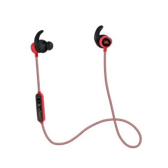 Authentic JBL Reflect Mini BT Bluetooth Sport Headphone (Red)
