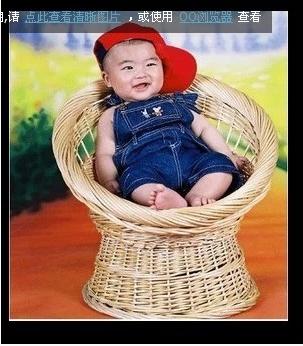 Baobao children's studio photo shoot day recliner