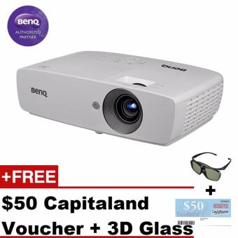 BenQ W1090 FULL HD + Free 3D Glasses