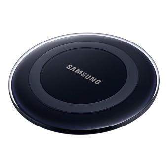 Black Samsung Wireless Charging Pad Qi Technology
