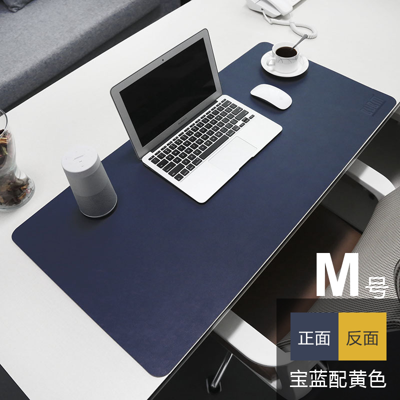 Bubm Leather Waterproof Work Pad Office Desk Mat