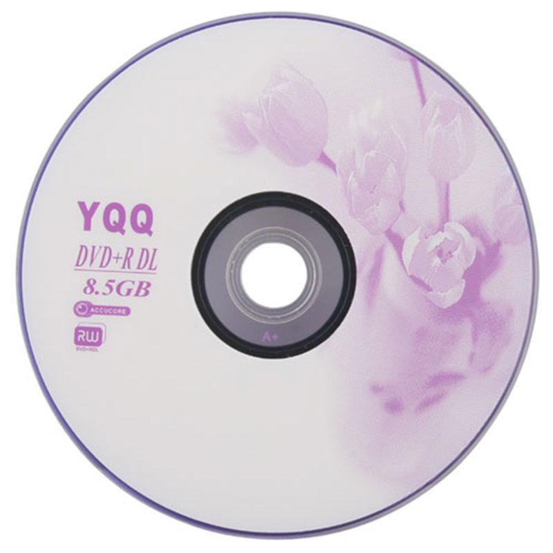 Buyincoins 1Pcs New 8X Blank Recordable Printable DVD+R DVDR Blank Disc Disk 8X Media 8.5GB