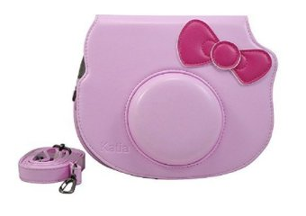 Caiul Carrying Bag for Fujifilm Instax Mini Hello Kitty (Pink)