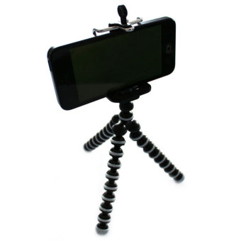 Cell Phone Camera Stand Clip Tripod Holder Mount Adapter For iPhone6 Plus +5.5'
