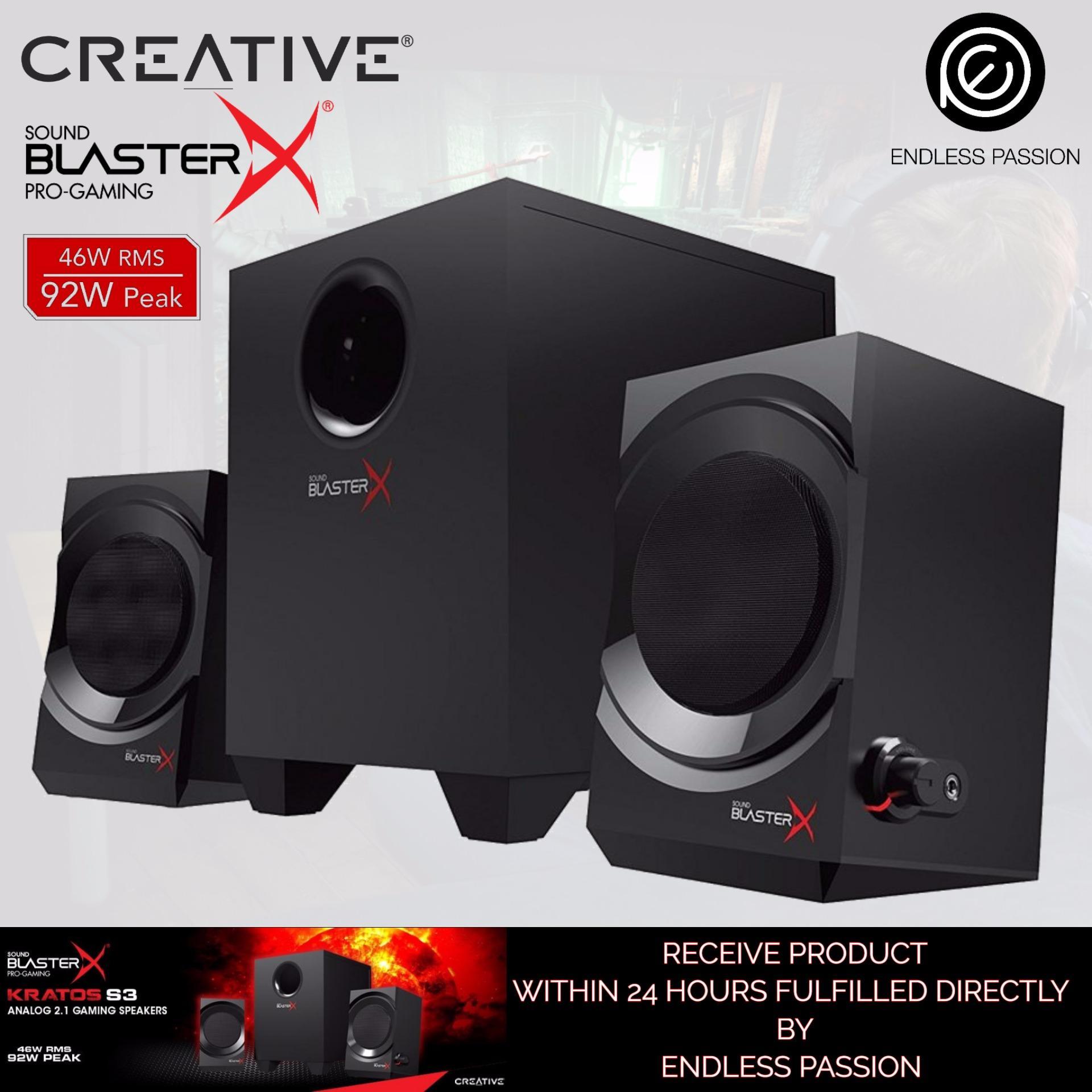 Creative Sound BlasterX Kratos S3 Analogue 21 Gaming Speaker System