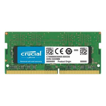 Harga Crucial 16GB DDR4 2400MHz SO-DIMM 260-pin Memory for Mac Module CT16G4S24AM