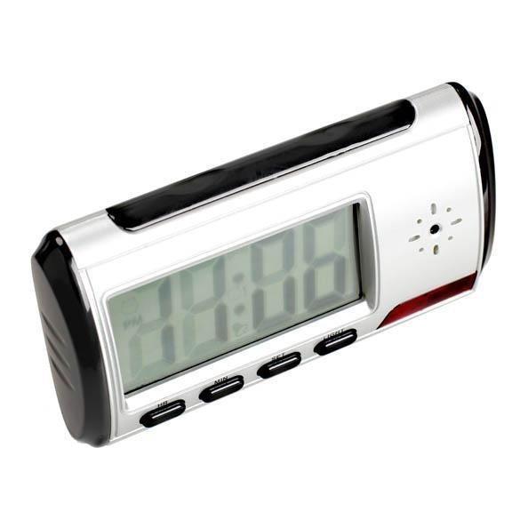 Digital Alarm Clock Hidden Surveillance Nanny Camera Video DVRRecorder - intl