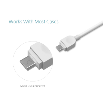 dodocool 1m Soft TPE Micro USB Charge and Sync Cable - 5