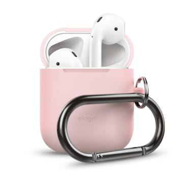 Elago AirPods Hang Case (Lovely Pink)