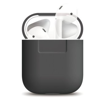 Elago AirPods Silicone Case (Dark grey)