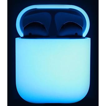 Elago AirPods Silicone Case (Nightglow Blue)