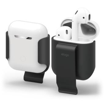 Harga Elago Carrying Clip Case for AirPods Case (Black)