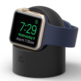 Harga Elago W2 Stand for Apple Watch (Compatible with Apple NightstandMode) - Black