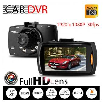 "Harga G30 Car Cameras + 2.7"" Car Driving Video Recorder Car DVR FHD 1080PDash Cam Camcorder Night Vision -intl"