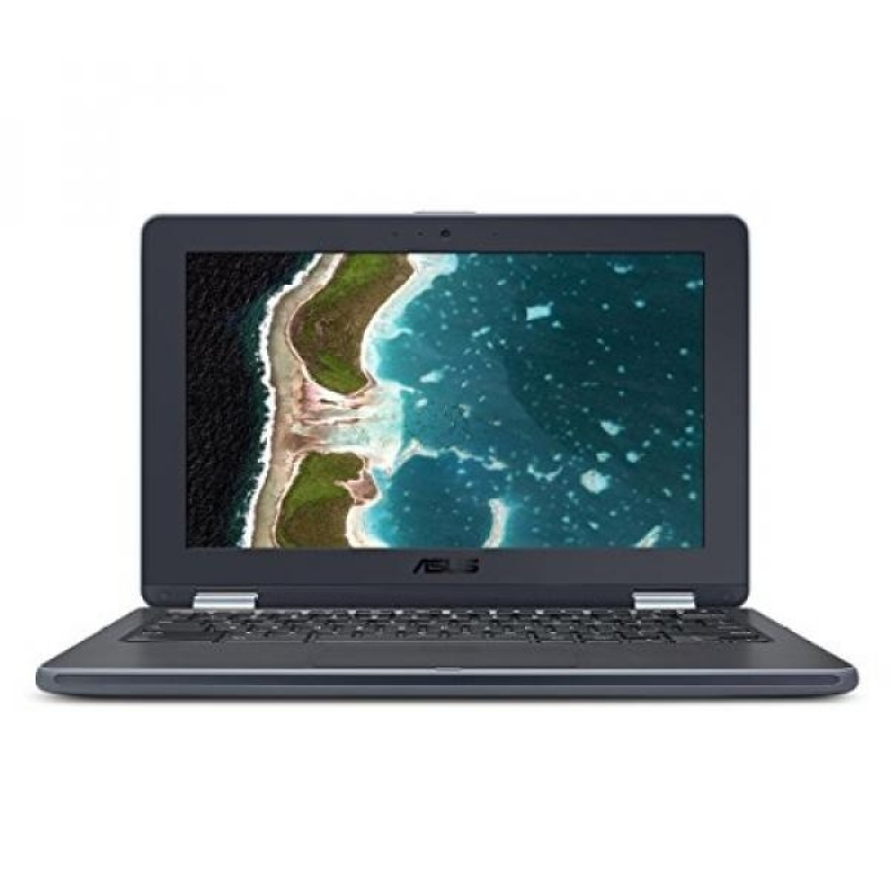 GPL/ ASUS Chromebook Flip C213SA-YS02 11.6 inch Ruggedized & Water Resistant, Touchscreen, Intel Dual-Core Apollo Lake N3350 , 4GB DDR4 RAM, 32GB Flash Storage, USB Type-C, Supports Android Apps/ship from USA - intl
