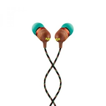 Harga House of Marley EM-JE041-RA Smile Jamaica In-Ear Headphones, Rasta - intl