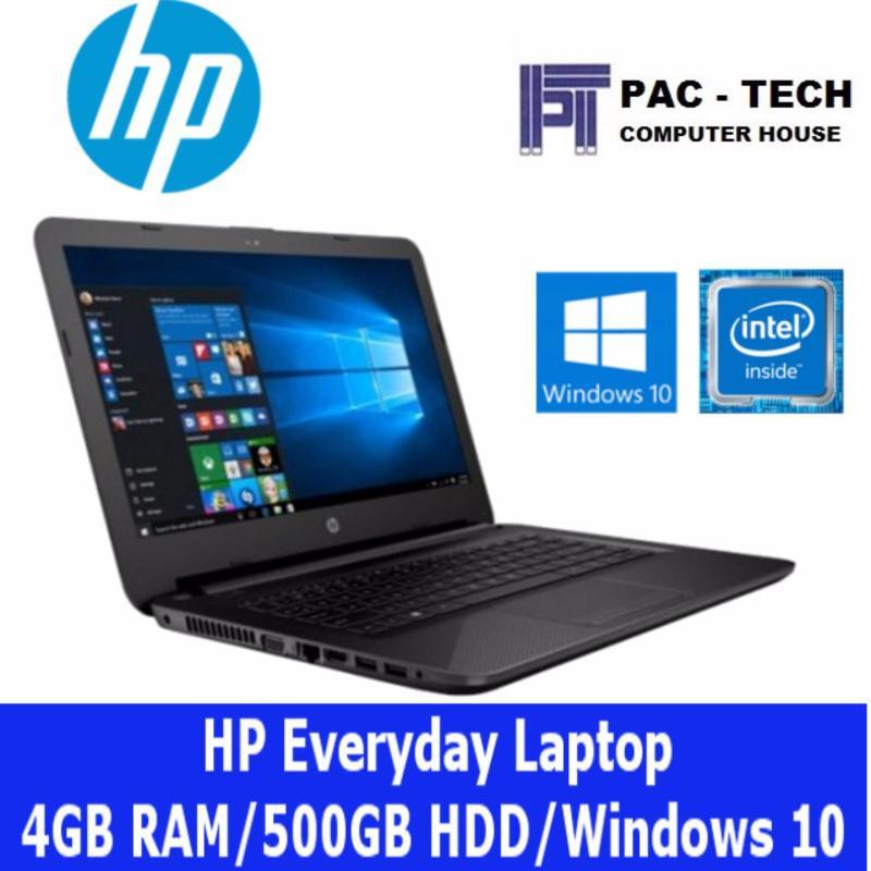 HP Everyday Laptop/8GB RAM/500GB HDD/Intel Processor/1 Year Warranty