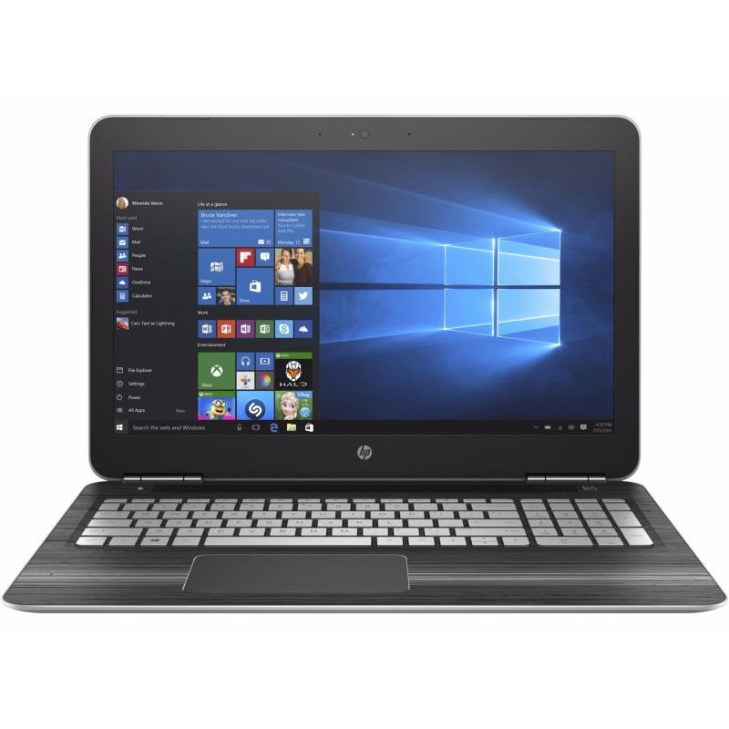 HP PAV 15-BC222TX I7-7700HQ 8GB NVIDIA GTX1050 4GB WIN10(Silver)