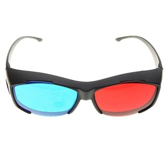 Anaglyphic Blue Red 3D Glasses