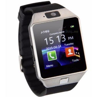 Dz09 Bluetooth Smart Watch with Camera for Iphone and Android Smartphones - intl