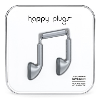 Harga Happy Plugs Earbud Space Grey