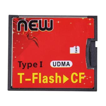 Harga T-Flash to CF type1 Compact Flash Memory Card UDMA Adapter 512mb