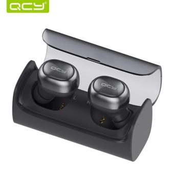 Harga QCY Q29 Airpods business bluetooth earphones with charging box - intl