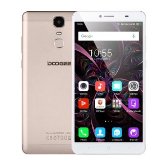 Harga DOOGEE Y6 Max 3D Smartphone 4G Cellphone 6.5inch 3GB RAM 32GB ROM Gold - intl