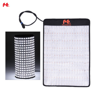 Harga FalconEyes RX-12T 34W 423pcs LED Beads Slim Fill-in Foldable Rollable Roll-up 5600K LED Camera Photography Light Lamp for Studio Video Film Portrait Shooting - intl