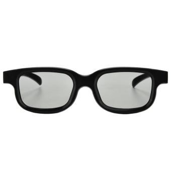 Circular Polarized Passive 3D Glasses for 3D Video Movies (EXPORT) - Intl