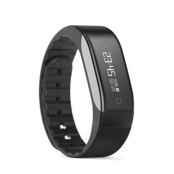 Harga SMA - BAND Bluetooth 4.0 Smart Wristband with 0.88 inch OLED(Black) - intl