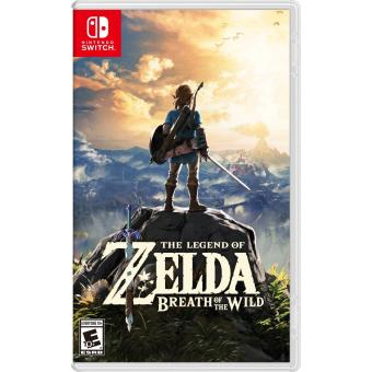Harga Nintendo Switch The Legend of Zelda: Breath of the Wild- AS (R3) (TRA-HAC-AAAAA-MSE)