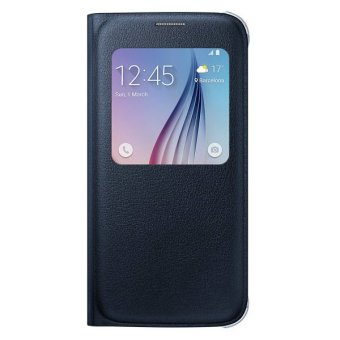 Harga Samsung S6 S View Cover Leather