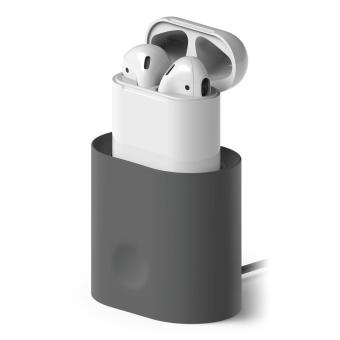 Harga Elago AirPods Charging Station for AirPods Case (Dark grey)