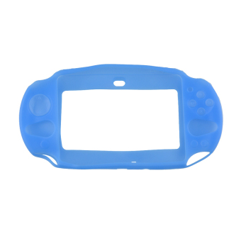 VR_Tech Silicone Protector Cover for PlayStation PS Vita 2000 (Blue) - intl