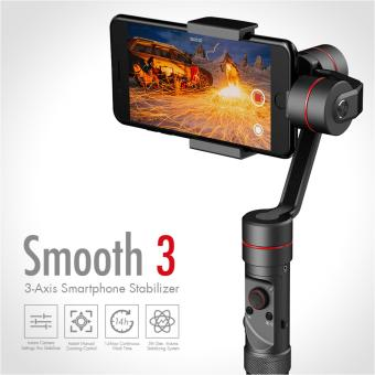 Harga Zhiyun Smooth 3 III 3-Axis Electronic Handheld Brushless Gimbal Stabilizer for Smartphones & Gopro