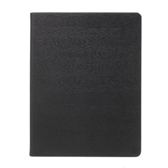 Harga TORRAS Forest Case Smart Leather Cover for iPad 2/3/4 - Black - intl