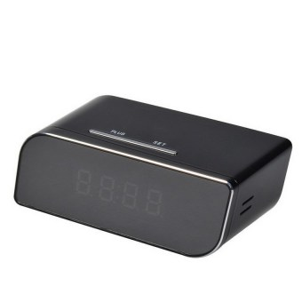 Mini 720P HD WIFI SPY DVR Hidden Camera Clock Night VisionDetectionMotion Cam